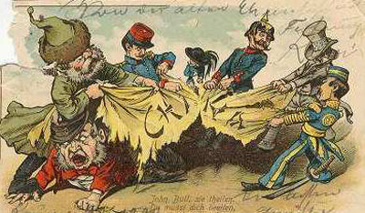 Représentation Guerre de l'Opium
